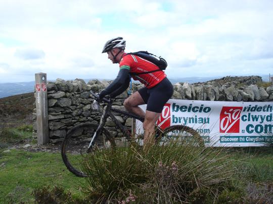 cycling Clwydian Range
